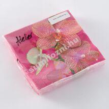 Papírszalvéta orhidea