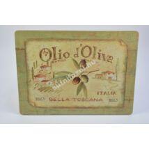 Olivás üveglap