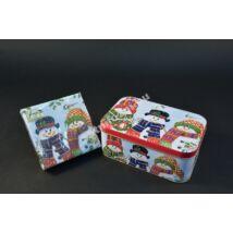Hóemberes doboz+szalvéta
