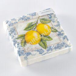 Papírszalvéta citromos