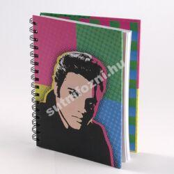 Jegyzetfüzet  Retro színes