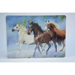 Tányéralátét lovak