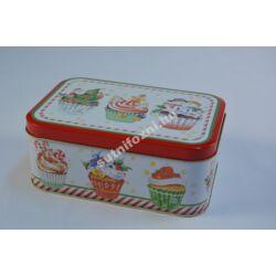 Karácsonyi cupcake doboz