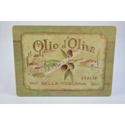 Tányéralátét - olivas