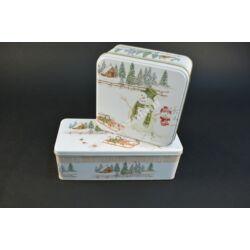 Hóemberes  süteményes doboz szett