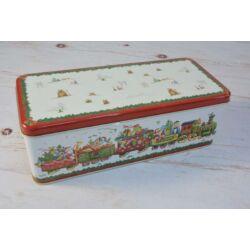 Süteményes doboz karácsonyi vonat