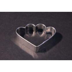 Legyező kiszúró forma 6,5 cm