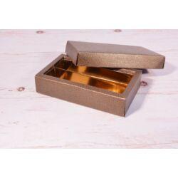 Bonbon doboz fedeles 2 soros osztott