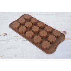 Szilikon bonbon forma csoki forma margaréta virág
