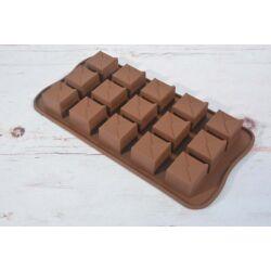 Szilikon bonbon forma csoki forma  ajándékdoboz