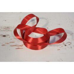 Díszítő dekoráló dekorációs 25 mm  bordó szatén szalag