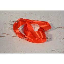 Díszítő dekoráló dekorációs 25 mm piros  szatén szalag