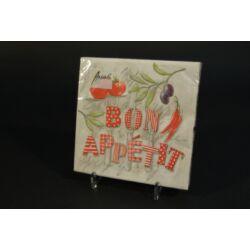 Bon Appetit papírszalvéta 33x33cm 20db