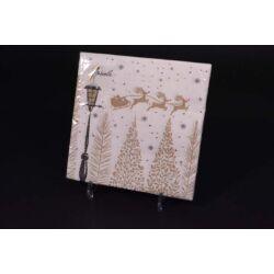 Karácsonyi papírszalvéta 33x33 cm