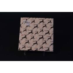 Szarvas papírszalvéta 33x33 cm 20db