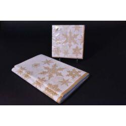 Papír asztalterítő 140x220 cm szalvétával 33x33 cm