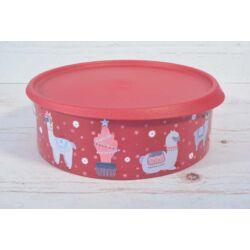 Tupperware alpaka kerek ételtároló konyhai műanyag doboz 2,4l