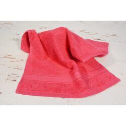 Konyhai kéztörlő  törölköző pink pamut frottír 30x50cm