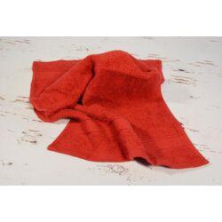 Konyhai kéztörlő  törölköző bordó pamut frottír 30x50cm