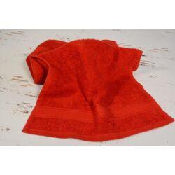 Konyhai kéztörlő  törölköző piros  pamut frottír 30x50cm