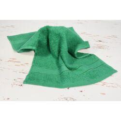 Konyhai kéztörlő  törölköző sötét zöld pamut frottír 30x50cm