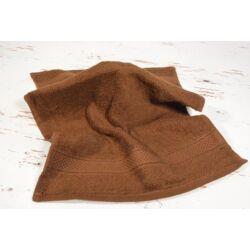Konyhai kéztörlő  törölköző csokoládé barna pamut frottír 30x50cm