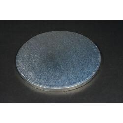 Ezüst  tortaalátét tortadob  25 cm