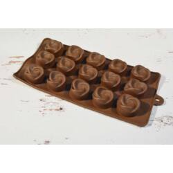 Szilikon bonbon forma csoki forma  örvény