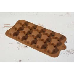 Szilikon bonbon forma csoki forma csillag
