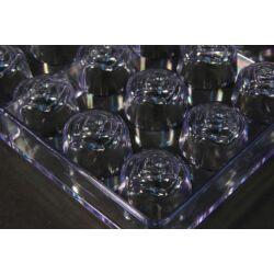 Polikarbonát bonbon forma rózsa