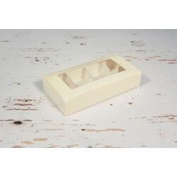 Bonbon doboz osztóval belezáródó tetővel