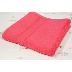 Pink  frottír  törölköző 50x90 cm
