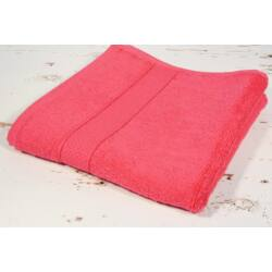 Pink frottír törölköző 100x140 cm