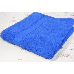 Király kék  frottír  törölköző 50x90 cm