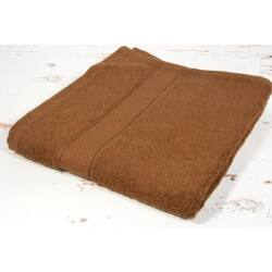 Csokoládé barna frottír törölköző 70x130 cm
