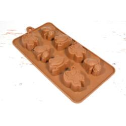 Szilikon bonbon forma csoki forma állatkák
