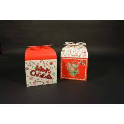 Karácsonyi ajándékdoboz díszdoboz 2db