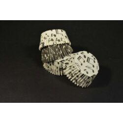 Hangjegy mintás muffin papír 36 db