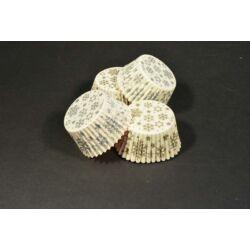 Hópehely  muffin papír 36 db