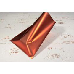 Metál piros tasak 15x20 cm