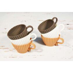 Muffin sütőforma szilikon csésze sütőforma 6db desszert forma