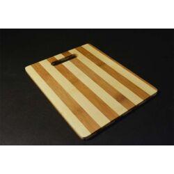 Bambusz vágódeszka 25x20 cm