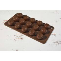 Szilikon bonbon forma csoki forma