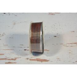 Dekorációs szalag bordó 2,5 cm x 10m