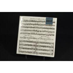 Hangjegy mintás papírszalvéta 33x33 cm