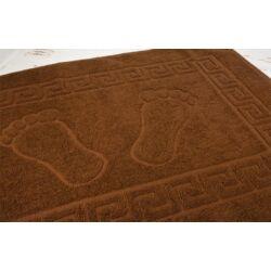 Csokoládé barna  fürdőszobai kilépő törölköző