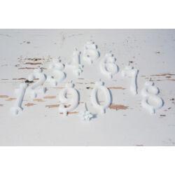 Tortagyertya 0-9 számgyertya 6 cm