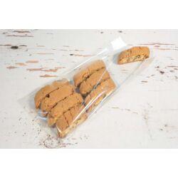 Átlátszó tasak  desszert csomagoláshoz visszahajtható