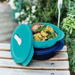 Tupperware Új Generációs  Polytupper Kerek ételtartó ételszállító doboz szett