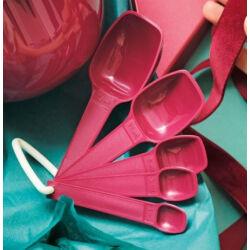 Tupperware mérőkanál szett 1-2-5-15-25 ml fűszerkanál lsztlapát